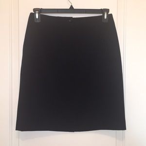 Talbots Stretch Black Dressy Pencil Skirt Size 10